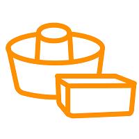 お菓子・パン作りの型