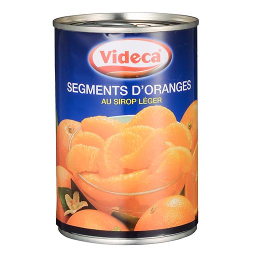 オレンジの缶詰