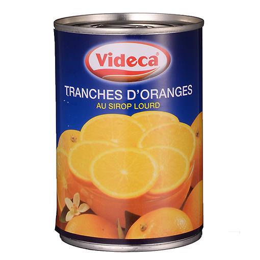 オレンジスライス(缶詰)