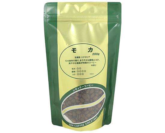 コーヒー豆(全珈琲 モカ(挽))*挽いたもの