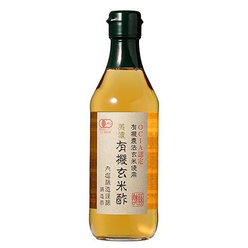 美濃 有機玄米酢
