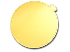 ゴールド台紙(丸6寸)