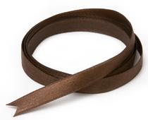 サテンリボン(ブラウン)10mm