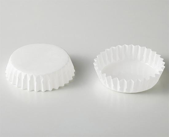ペットカップ(丸型・白無地)90×30