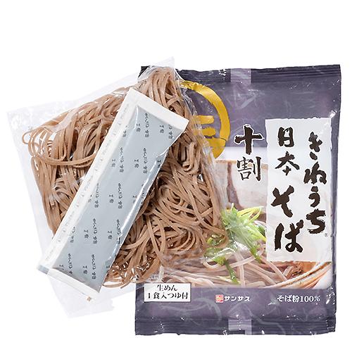 サンサスきねうち生麺 十割日本そば / 170g