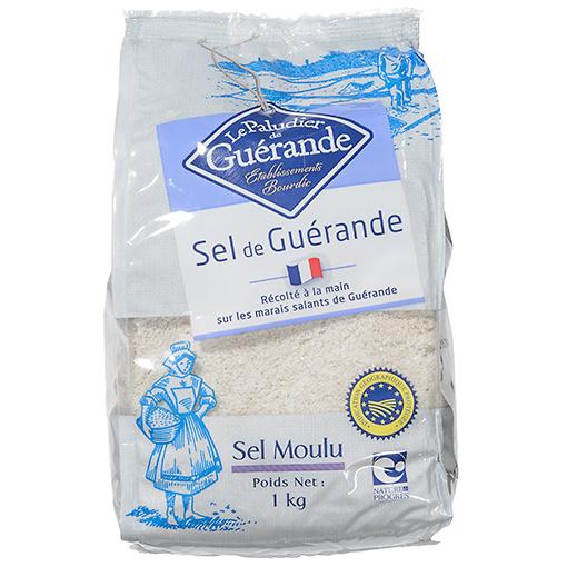 ゲランドの塩(微粒)