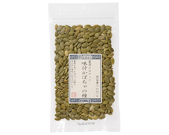 富澤のスナック 味付かぼちゃの種 / 100g