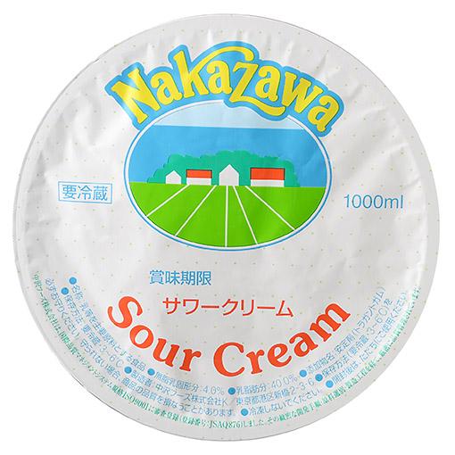 中沢 サワークリーム / 1000ml