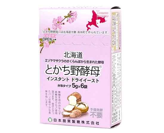ニッテン とかち野酵母インスタント / 1箱(5g×6袋)