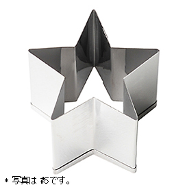パテ抜型 星 / #3