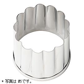 スコーン抜き型(パテ抜型 菊/♯6)