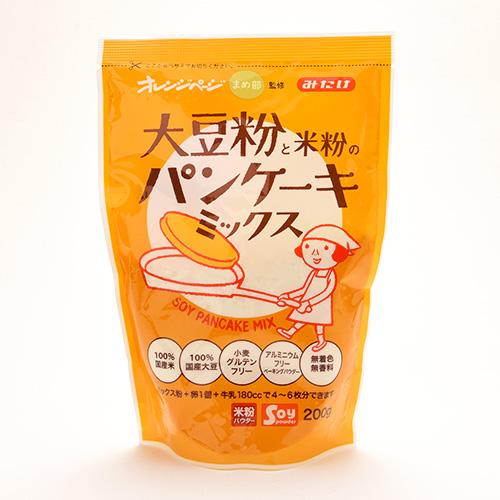 【オレンジページ監修】大豆粉と米粉のパンケーキミックス