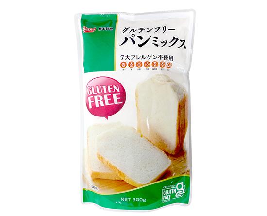 九州産玄米粉使用グルテンフリーパンミックス