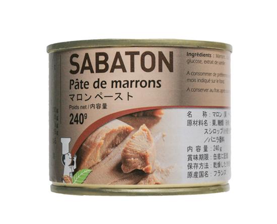 サバトン マロンペースト