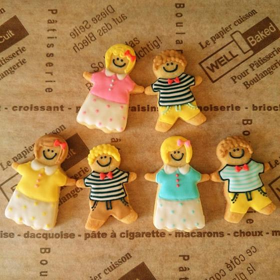 男の子&女の子クッキー