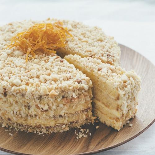 オレンジレイヤーケーキ