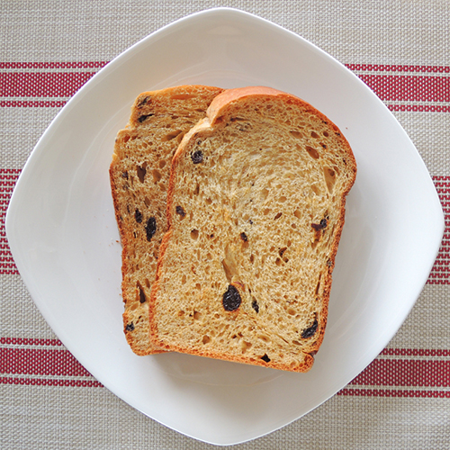 大人のレーズン食パン