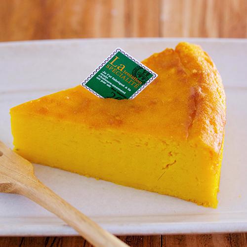 混ぜて焼くだけ★かぼちゃのクリームチーズケーキ