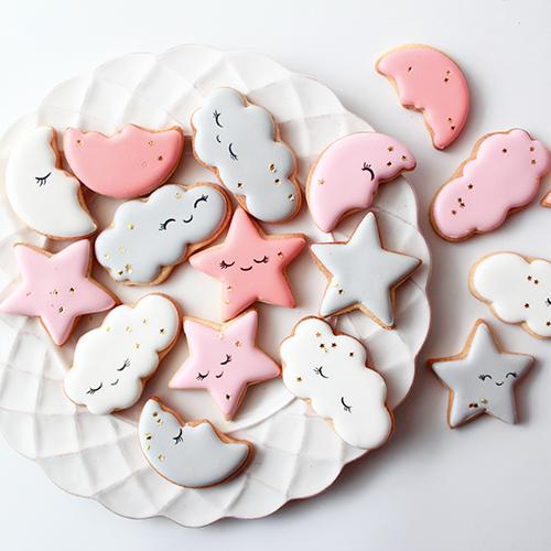 ファンタジーアイシングクッキー