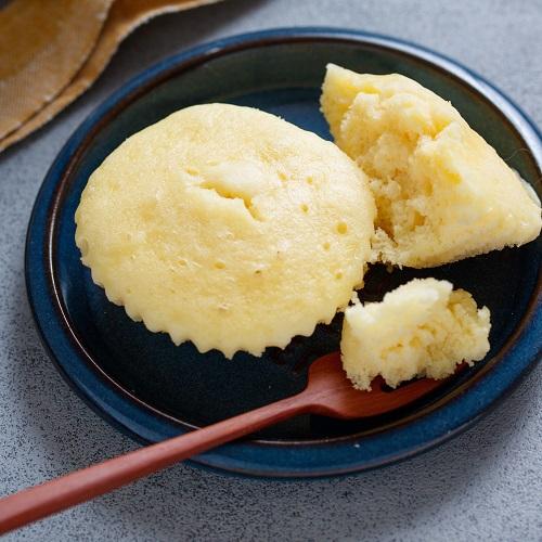 フライパンdeラクラク♪チーズ蒸しケーキ
