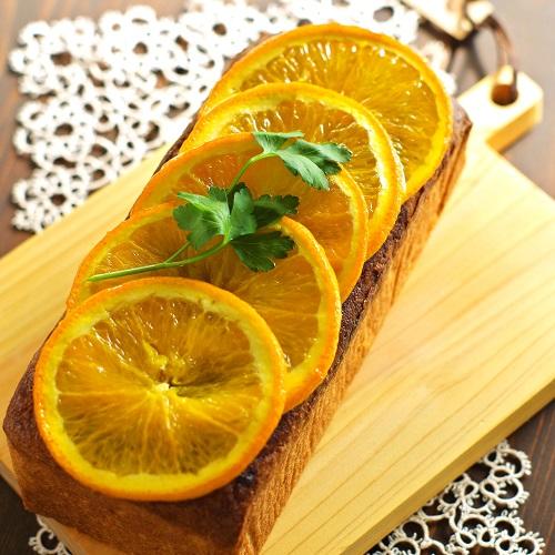 低糖質&グルテンフリー 大豆粉でフレッシュオレンジのパウンドケーキ