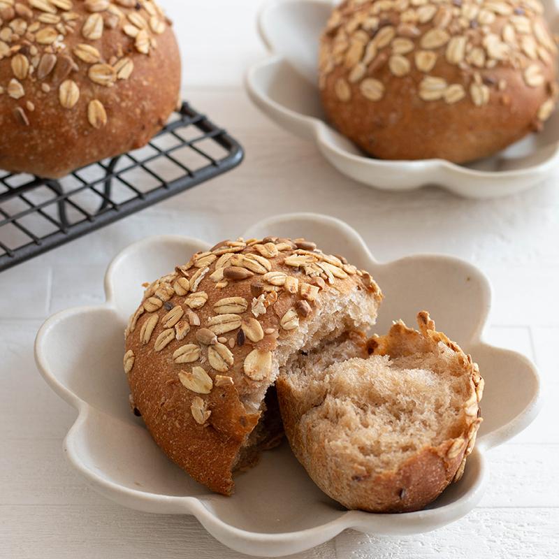 10種の雑穀が入ったプチパンのレシピを見る