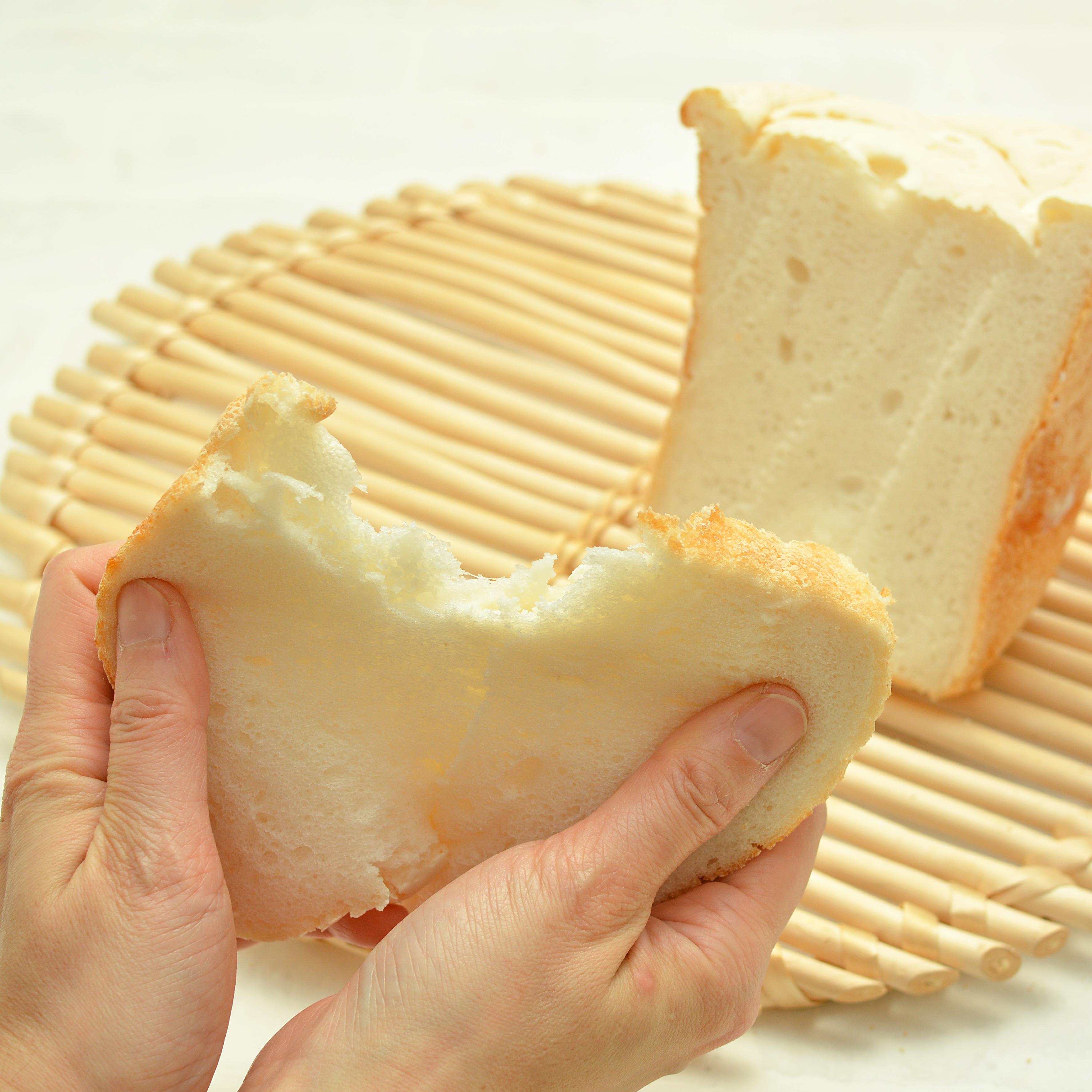 ホームベーカリーで作るミズホチカラの100%米粉食パン