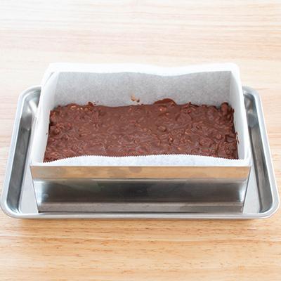 さくさくライスパフのミルクチョコバーの作り方4