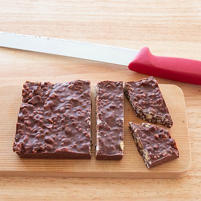 さくさくライスパフのミルクチョコバーの作り方5