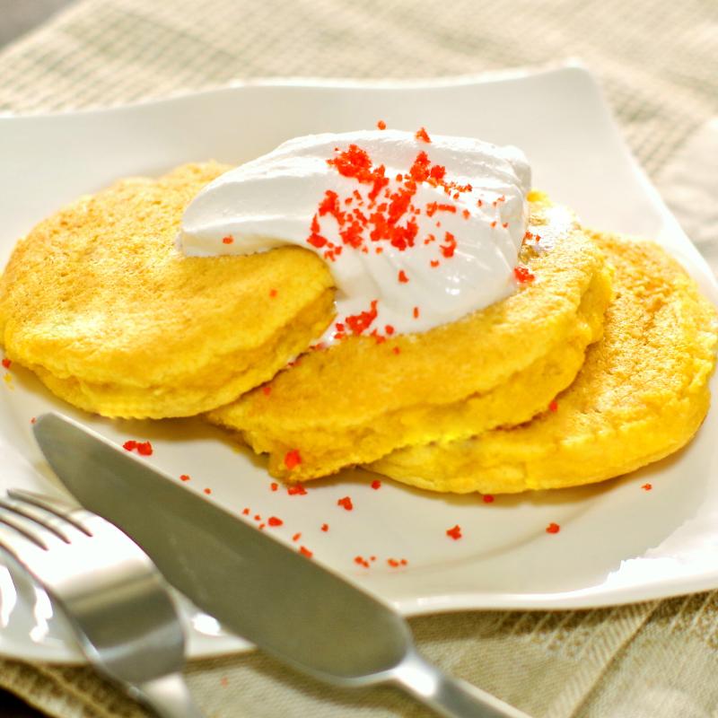 おからの糖質制限ふんわり幸せパンケーキ