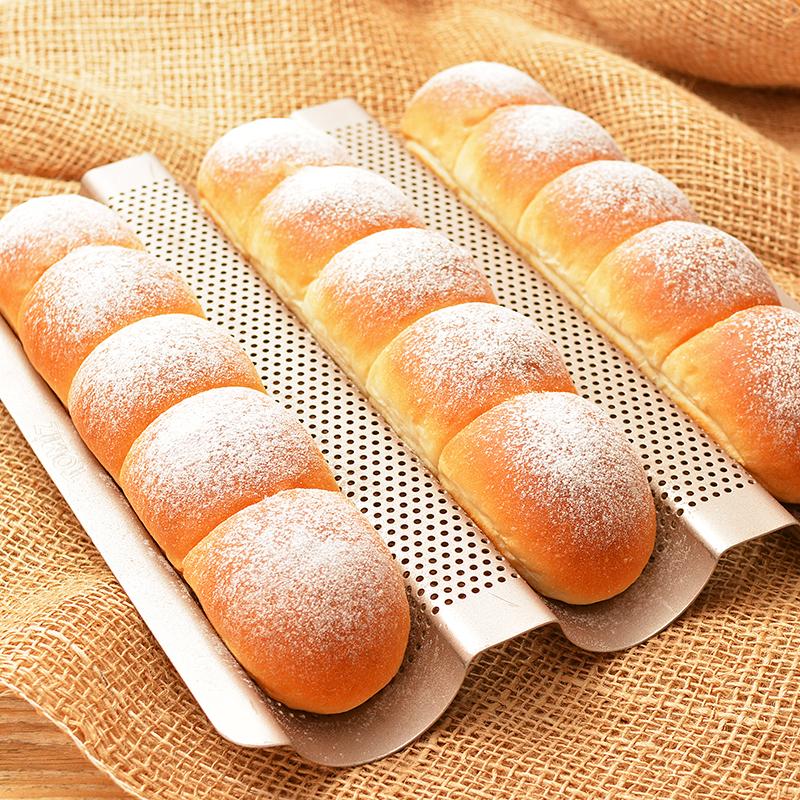 フランスパン天板で焼く ちぎりパン