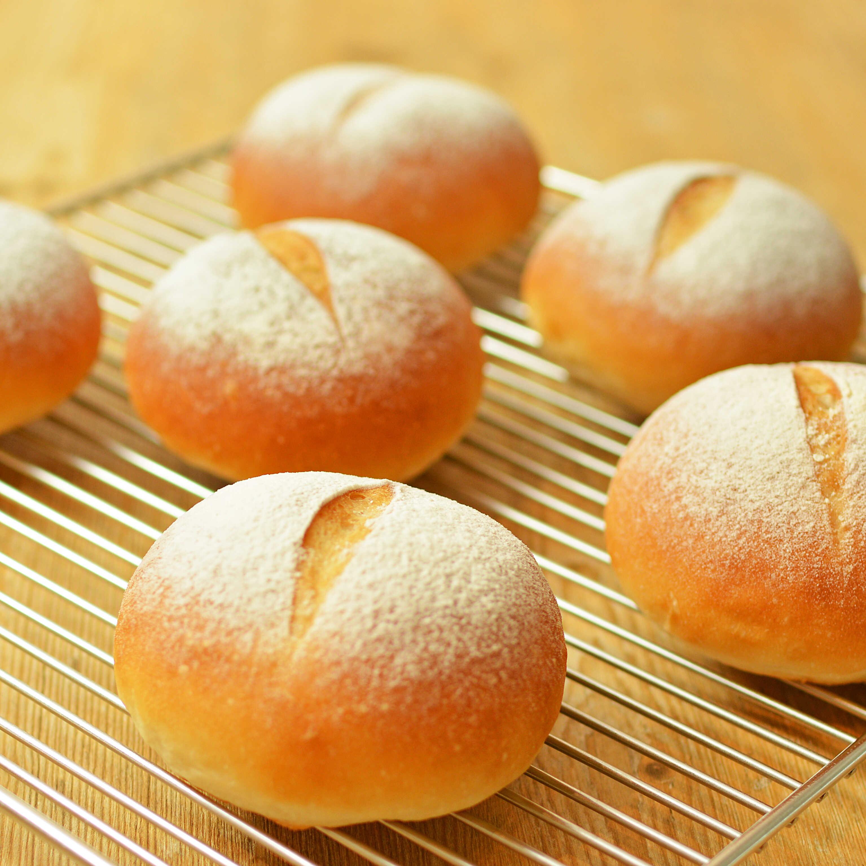 春よ恋プレミアム100%で作る もっちりプチパン