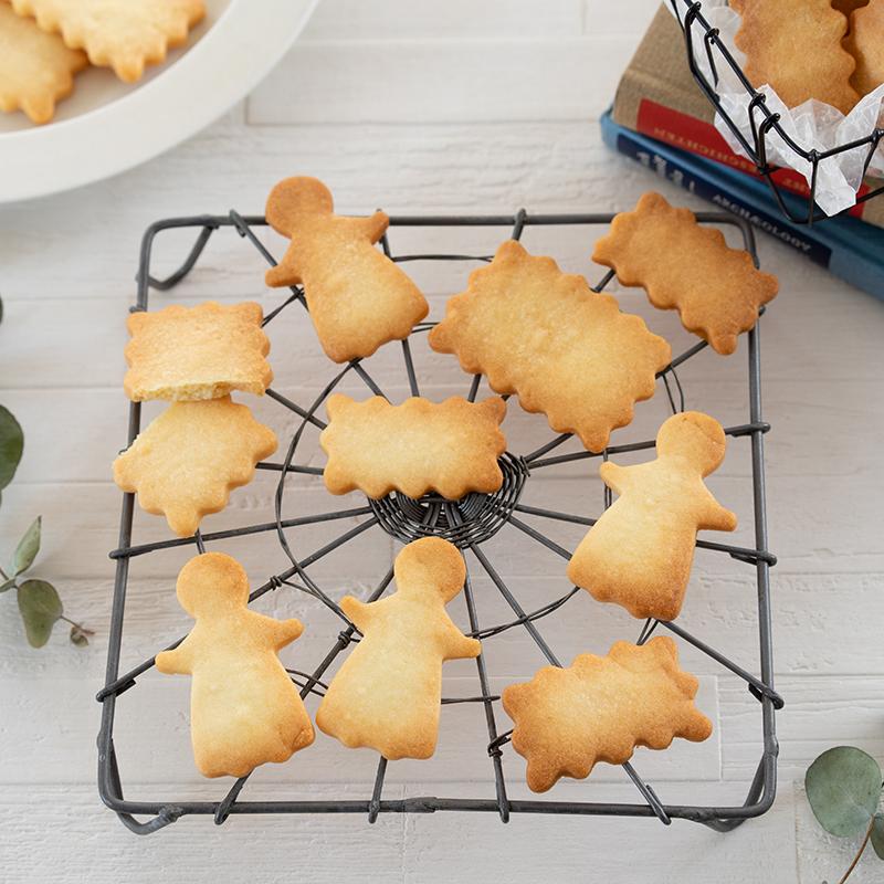 【お菓子作りの教科書】基本の型抜きクッキー