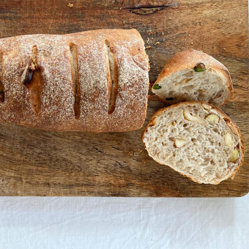 3種のナッツパン