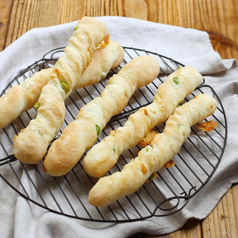 枝豆チーズバトン