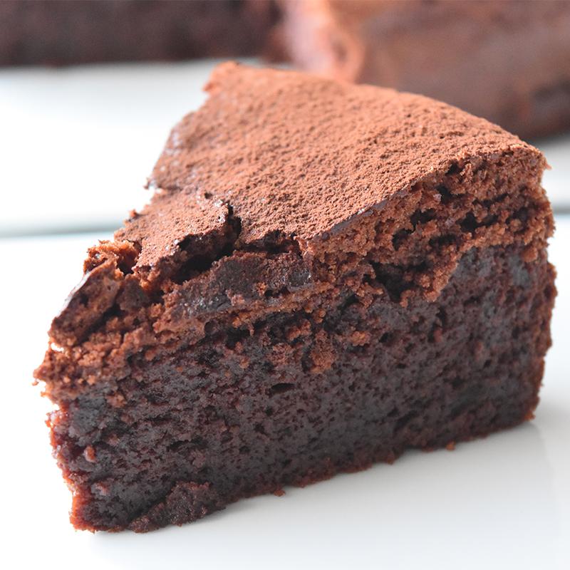 【濃厚】リッチなしっとりチョコレートケーキ