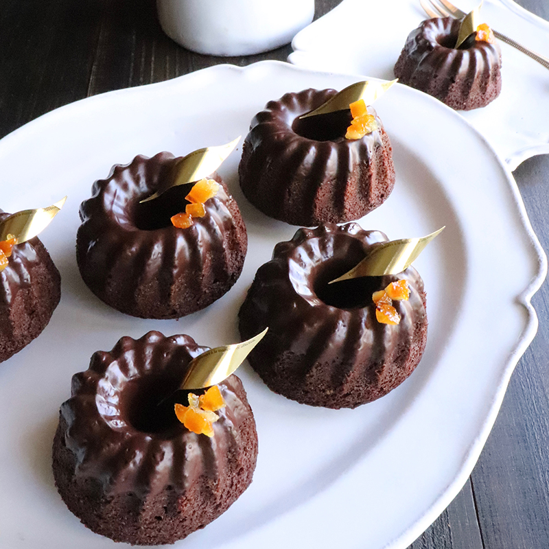 【グルテンフリー・白砂糖不使用】アーモンドチョコレートケーキ