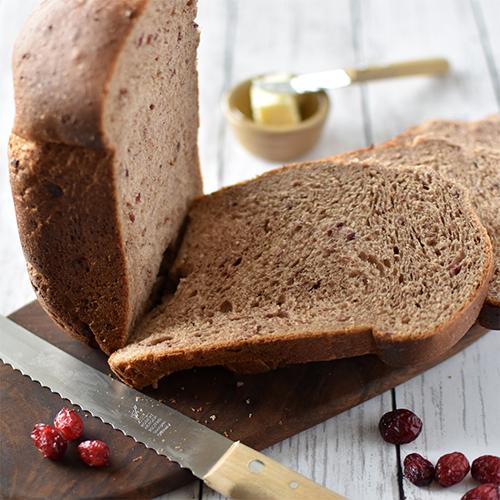 くるみとクランベリーの食パン HB編