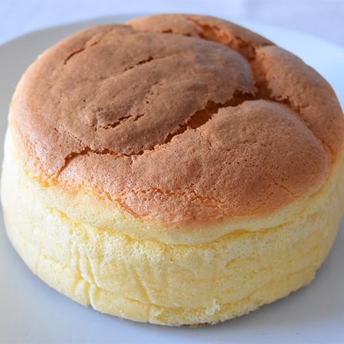 ふわふわスフレチーズケーキ