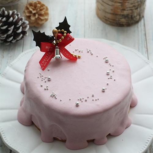 親子で作ろう!ラズベリーアイスケーキ