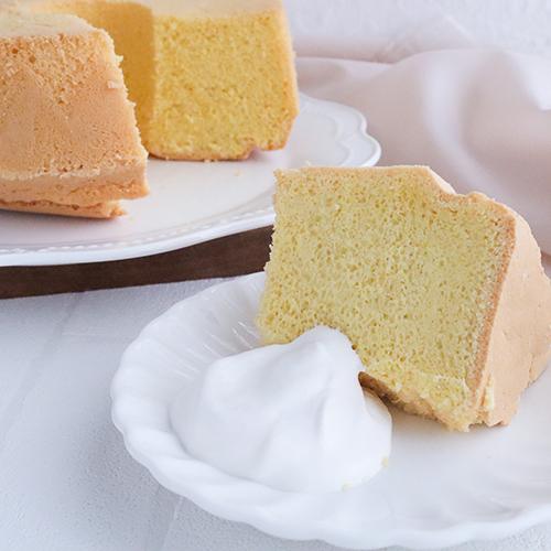 【低糖質】基本のバニラシフォンケーキ