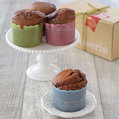 ホットケーキミックスのチョコカップケーキ