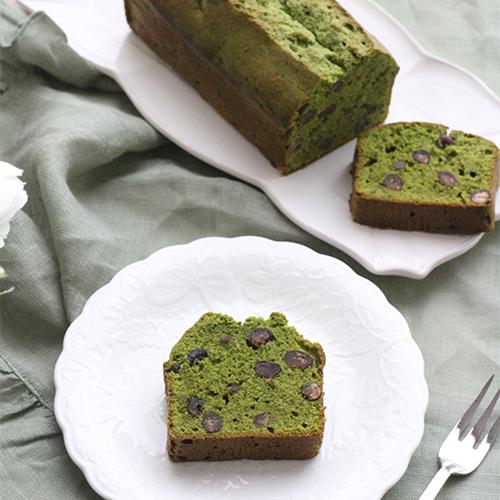 【定番!】抹茶と大納言の基本のパウンドケーキ