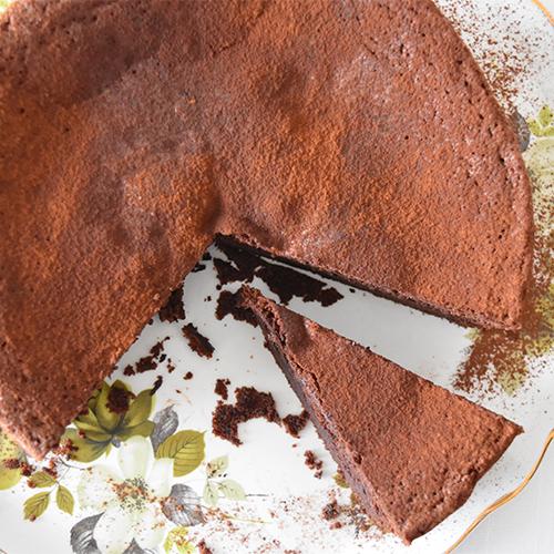 ライ麦とアマレットのチョコレートケーキ