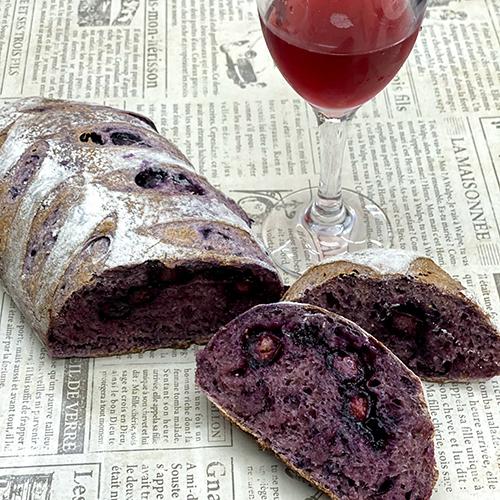 パーティーにぴったり!ホシノ酵母で作るワインベリーパン