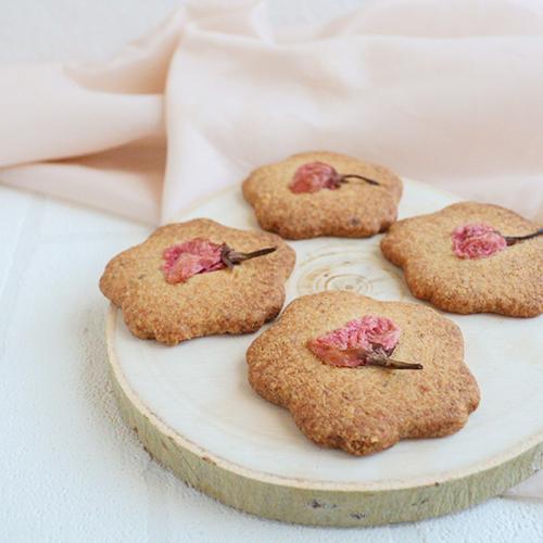【低糖質】桜クッキー