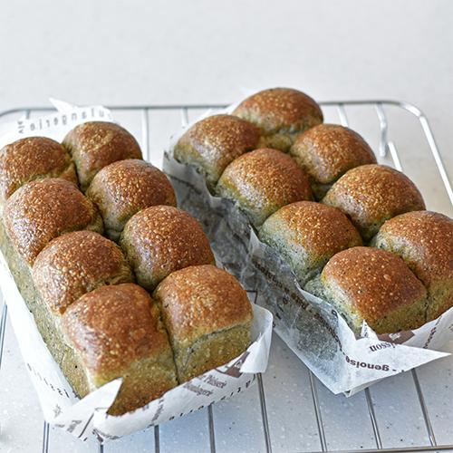 鍋一つで作る 捏ねない餡パン
