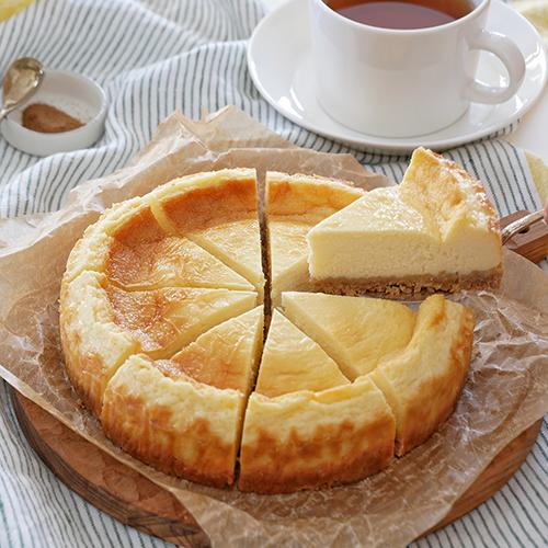 スパイス風味のベイクドチーズケーキ