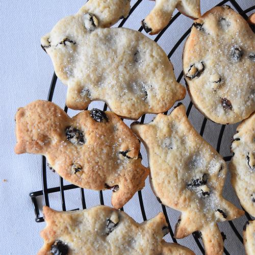 レーズンのクッキー