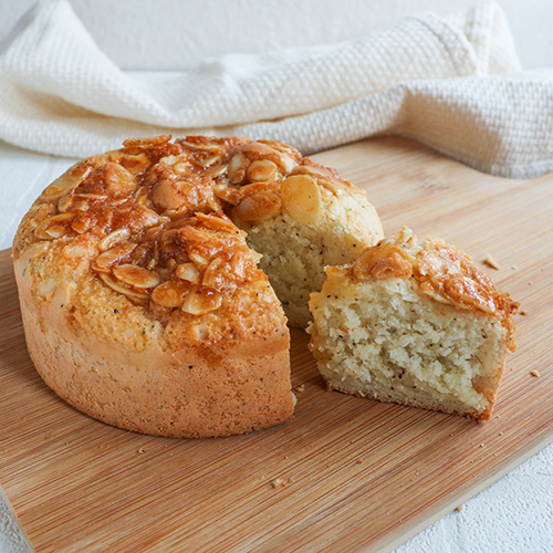 【グルテンフリー】アールグレイのキャラメルナッツケーキ